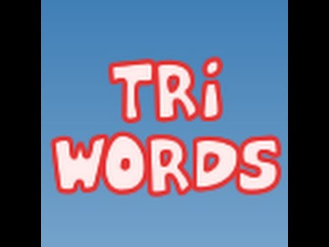 Tri-Words - learn the words - Game App - for kids - para crianças - tri words