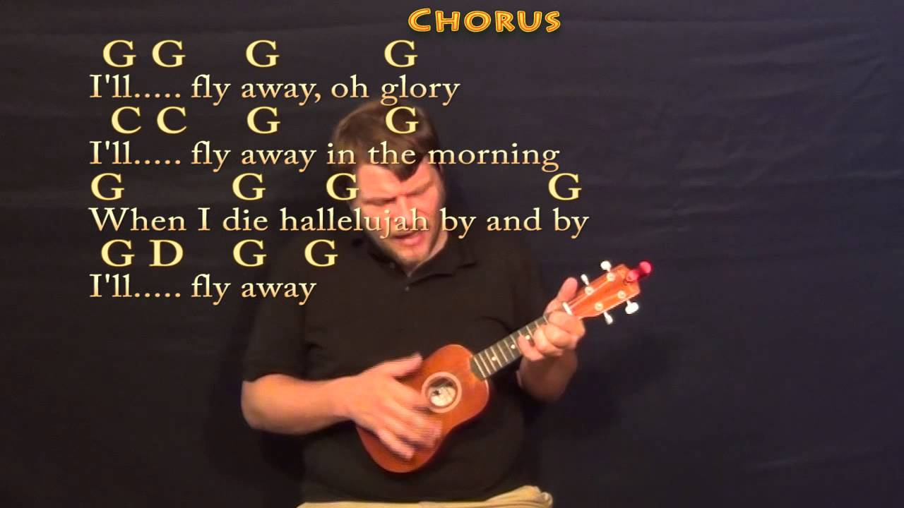Ill fly away soprano ukulele cover lesson with chordslyrics ill fly away soprano ukulele cover lesson with chordslyrics youtube hexwebz Image collections