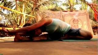 Umahesh six weeks yoga retreat in Gokarna, India.
