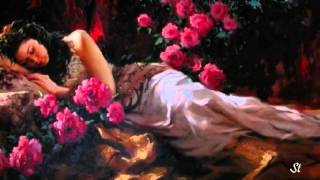 Clayderman - Serenade, Schubert and Richard  S.Johnson - paintings