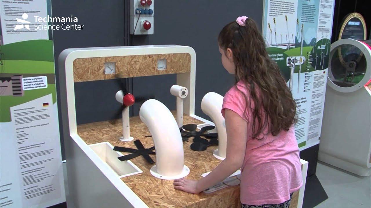 Exhibition Renewable Energy Sources Techmania Science