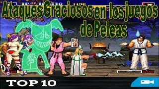 Top 10 Ataques Graciosos en los juegos de Peleas