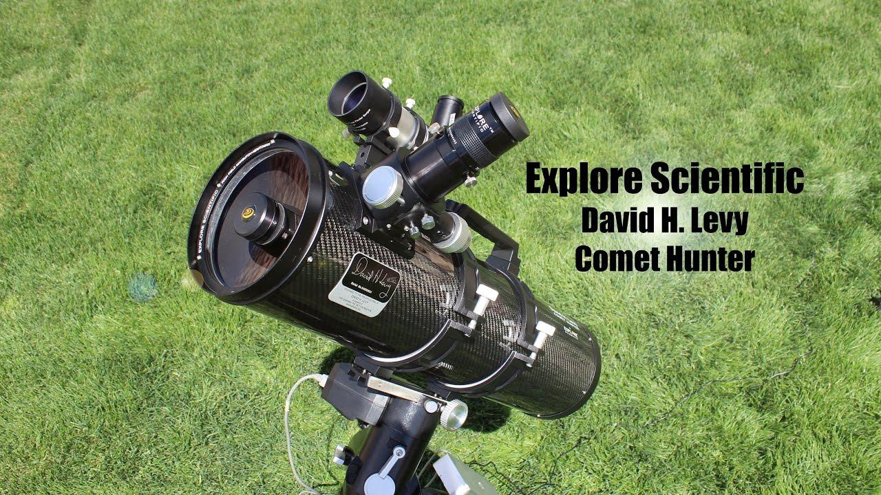 Explore Scientific David H. Levy Comet Hunter Review - YouTube