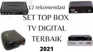 12 rekomendasi set top box tv digital  STB antena tv digital terbaik