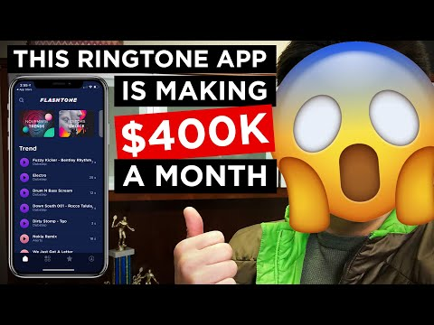 Ringtone App Making $400K a Month! 😱