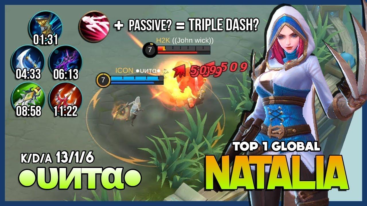 Penciduk Terbaik Semua Hero, Tips Tutorial Natalia Mobile Legends ...