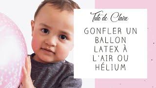 [Tuto] Comment gonfler un ballon latex ou alu - MyBBshowershop.com