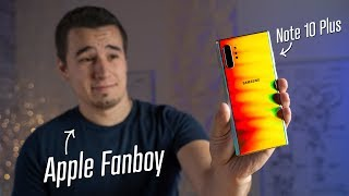 Download Note 10 Plus from an iPhone user's perspective Mp3 and Videos