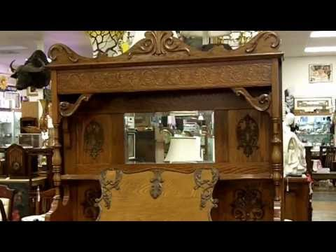 Antique furniture, Kimball pump organ from our antiques mall at Gannon's Antiques & Art