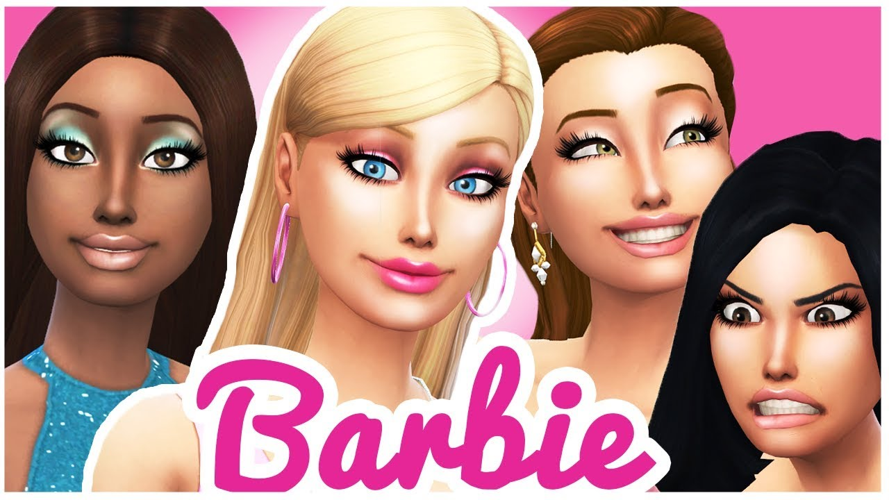 barbie s friends barbie life in the dream house the sims 4 cas