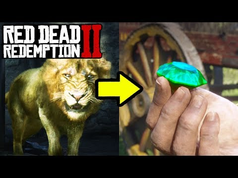 THIS LEGENDARY LION WILL REWARD YOU THE BEST ITEM IN Red Dead Redemption 2!