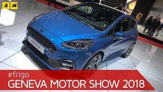 Ford Fiesta ST 2018 e Mustang Bullit al Salone di Ginevra [English SUB]