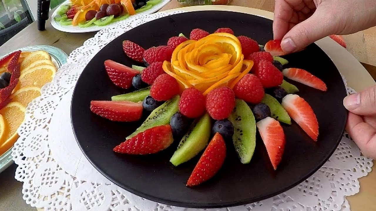 How To Make A Delicious Fruit Center | Table Decoration | Party Food  Decoration Ideas