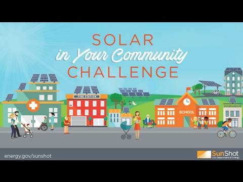 Webinar: Solar in Your Community Challenge