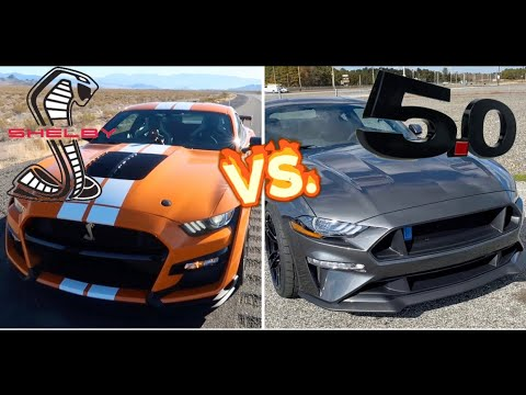 2020 SHELBY GT500 VS. (9 SECOND) 2019 MUSTANG GT// BUILT VS BOUGHT REVIEW!