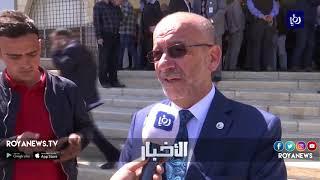 وقفة تضامنية دعماً لصمود الشعب الفلسطيني وإحياءً ليوم الأرض
