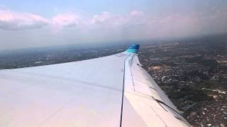 Airbus A330-200 Garuda GA 567 Take Off From Sepinggan International Airport Balikpapan 090415