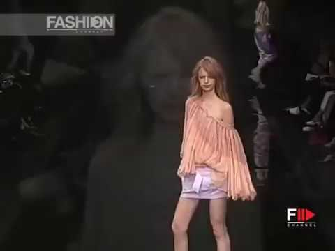 ALESSANDRO DELL'ACQUA Spring Summer 2003 Milan Fashion Channel