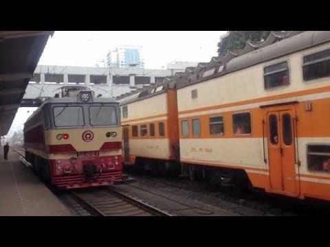 China Express Train Yulin to Nanning (火车玉林 - 南宁)