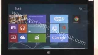 Google Chrome Windows RT - Converted Desktop App