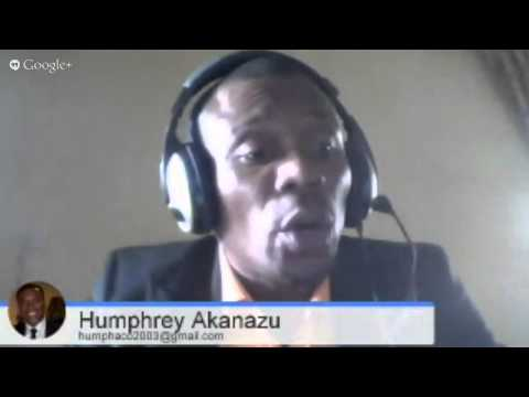 """SmallBizDavid"" welcomes Humphrey Akanazu, Nigerian Entrepreneur"