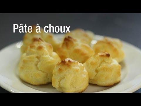 Recette de la pâte à choux