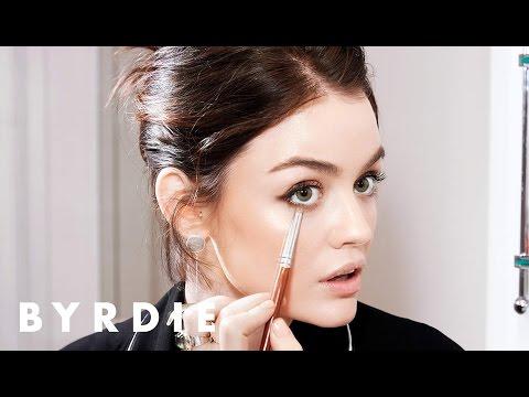 Lucy Hale's Everyday Makeup Essentials   Just Five Things   Byrdie