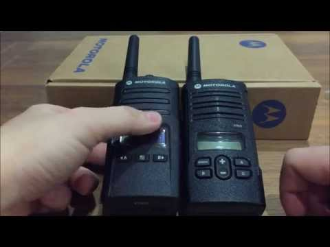 Out with the old, in with the new.  Motorola PMR446 Radios XT460 & XTNiD