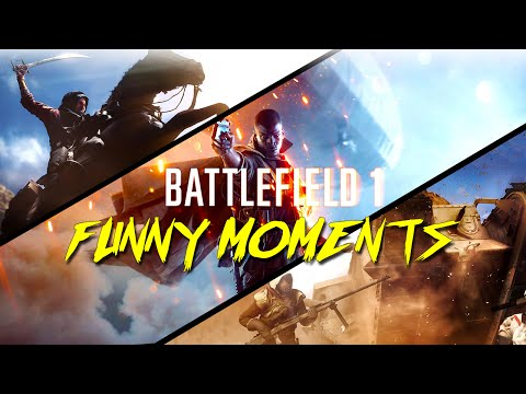 Battlefield 1 Funny Moments - Plane Jousting, Flying Horse Glitch, Funny Music Video and More! (BF1)