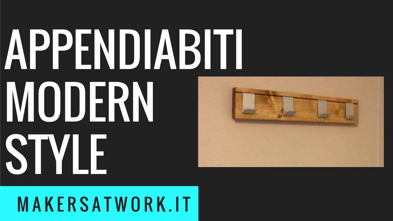 Portabiti A Parete.Appendiabiti Modern Style Fai Da Te