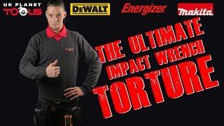 Which IMPACT WRENCH SURVIVES? Makita DTW251Z Vs Dewalt DCF880N Vs Energizer IMPACT DRIVERS TEST.