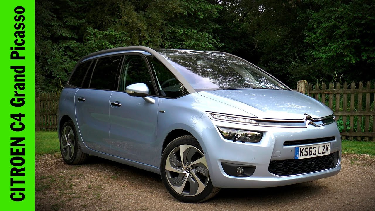 citroen grand c4 picasso review youtube. Black Bedroom Furniture Sets. Home Design Ideas