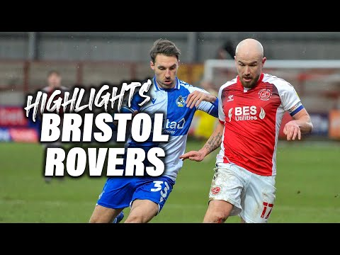 Fleetwood Town Bristol Rovers Goals And Highlights