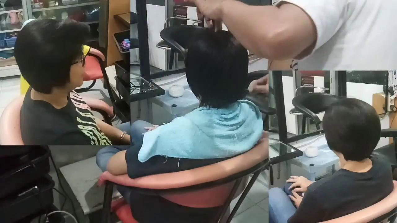 Potong Rambut Pendek Cool