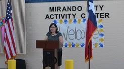Mirando City Activity Center Ribbon Cutting