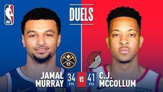 CJ McCollum & Jamal Murray Duel In EPIC Game 3 Showdown | May 3, 2019