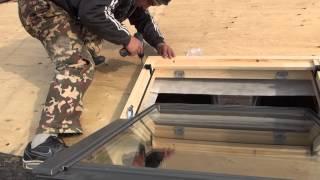 Крыша , устанавливаем мансардное окно(, 2014-01-19T13:31:56.000Z)