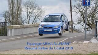 Equipage MEA/LALLEMENT - Rallye du cristal 2018