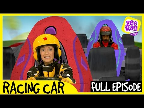 Let's Play: Racing Car! | Episode 1 | ZeeKay Junior
