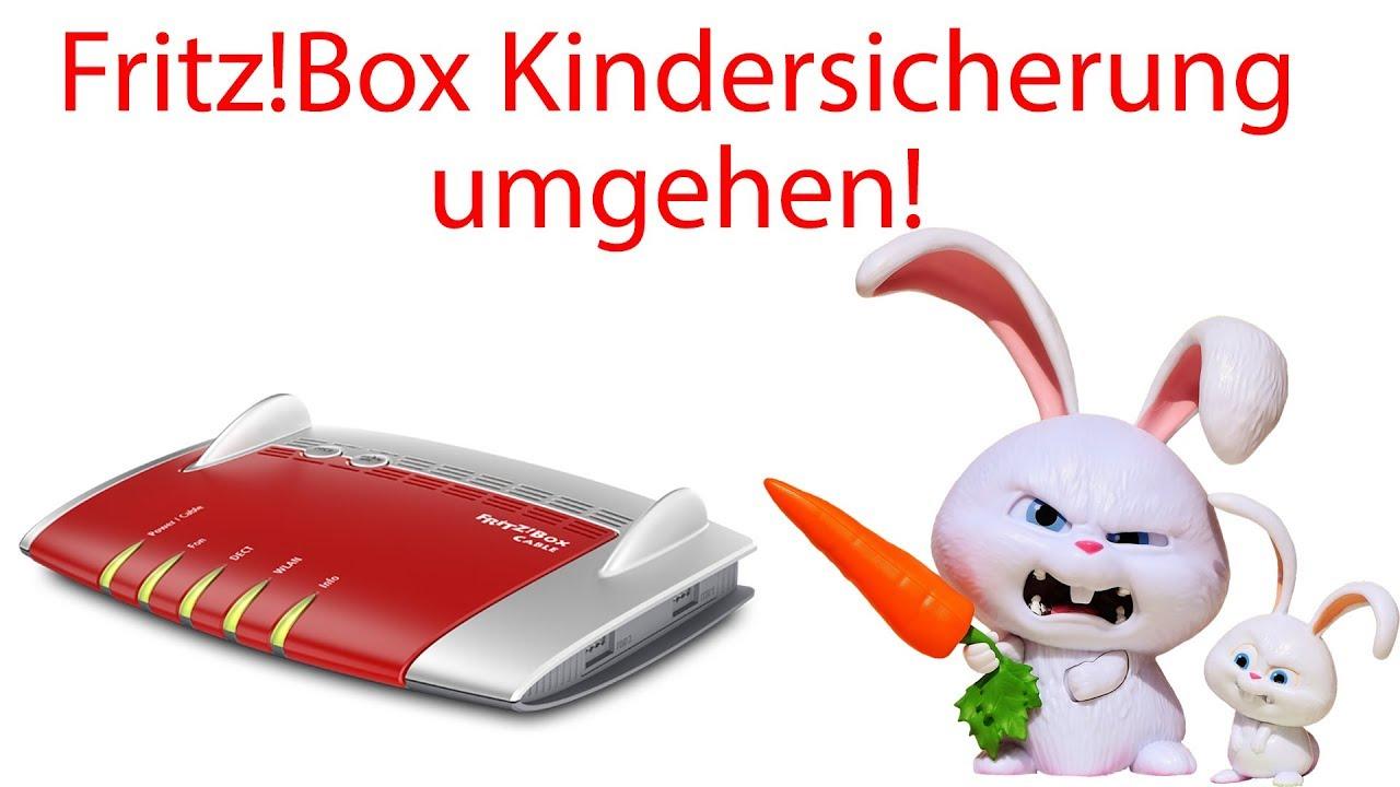 Fritz Box Kindersicherung Umgehen