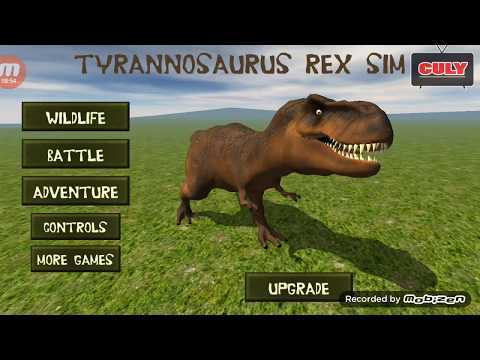 Trò chơi khủng long bạo chúa săn mồi tyrannosaurus rex simulator cu lỳ chơi game lồng tiếng vui