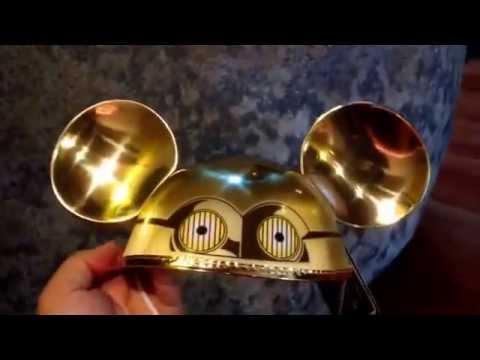 C 3po Mickey Ears Star Wars Disneyland Resort Mickey Mouse