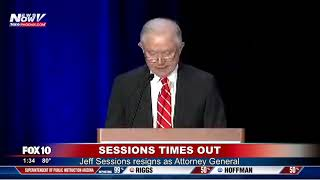 BREAKING: Jeff Sessions Resigns At The Request Of President Trump