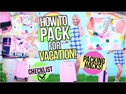 What to Pack For Vacation! Packing Hacks, Tips & Tricks!