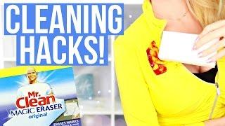 20+ Surprising Cleaning Hacks using the Magic Eraser!