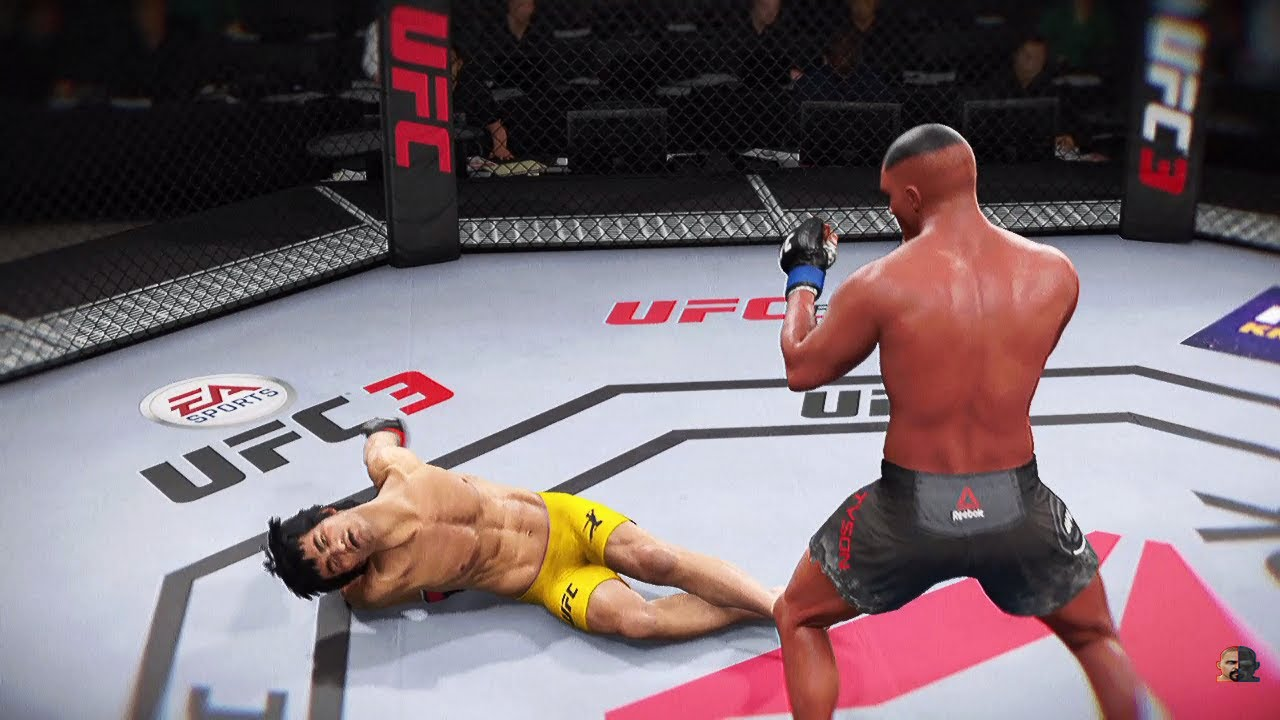 Download BRUCE LEE vs MIKE TYSON 2K19 | MUST SEE!!! | EA SPORTS UFC 3