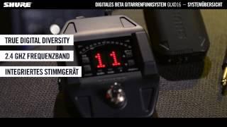 Shure GLXD16 digitales Beta Gitarren-Funksystem: Übersicht