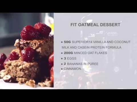 Fit Oatmeal Dessert