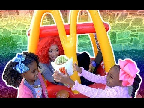 Pretend Play Food - McDonald's Drive Thru Food