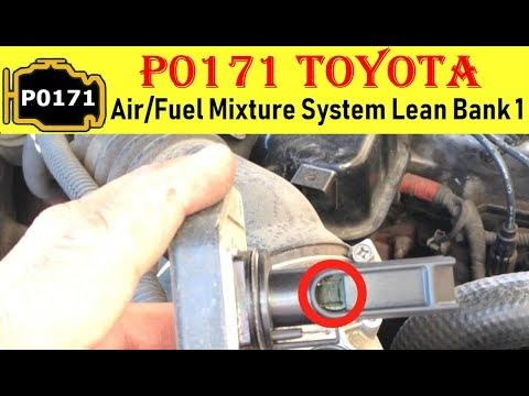 P0171 Toyota Yaris
